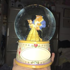 Things Remembered Accents - Jim Shore Beauty & The Beast Globe